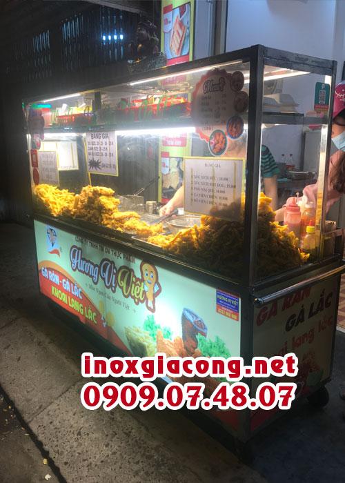 Xe gà rán lưu động giá rẻ tại Kiệt Phát