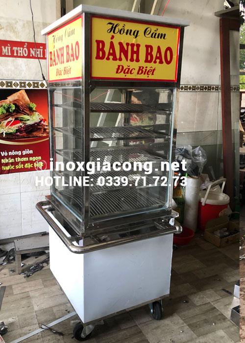 Tủ bánh bao inox tại HCM