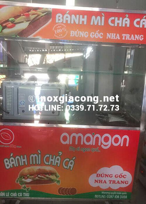 Mua xe bán bánh mì chả cá tại HCM giá rẻ