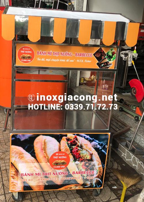 Mua xe bánh mì chả cá tại HCM