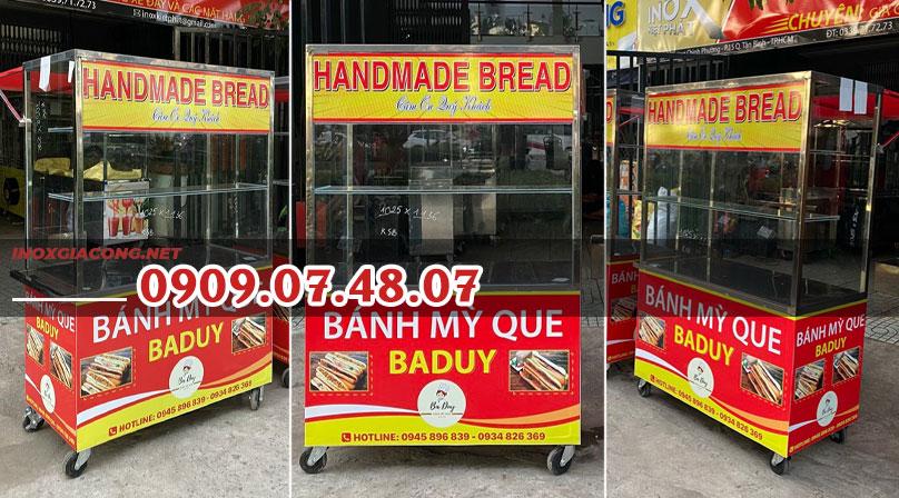 mẫu xe bánh mì que