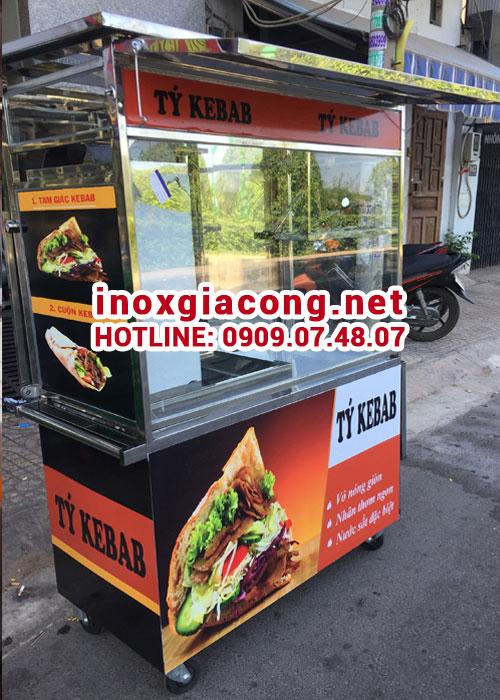 Xe bán bánh mì Kebab Thổ Nhĩ Kỳ