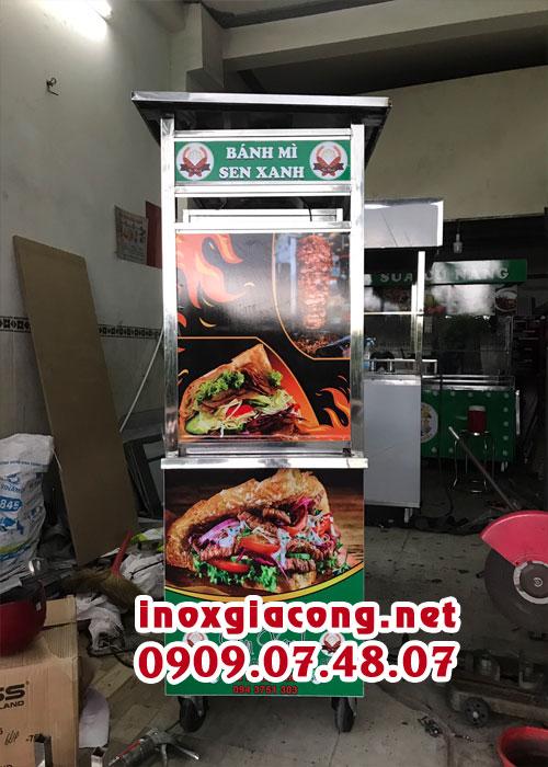 Mua xe bánh mì Doner kebab