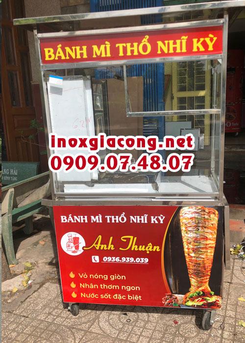 Giá xe bán bánh mì Thổ Nhĩ Kỳ