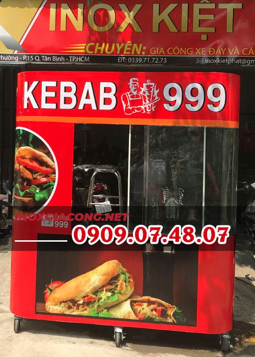 Xe bánh mì doner kebab