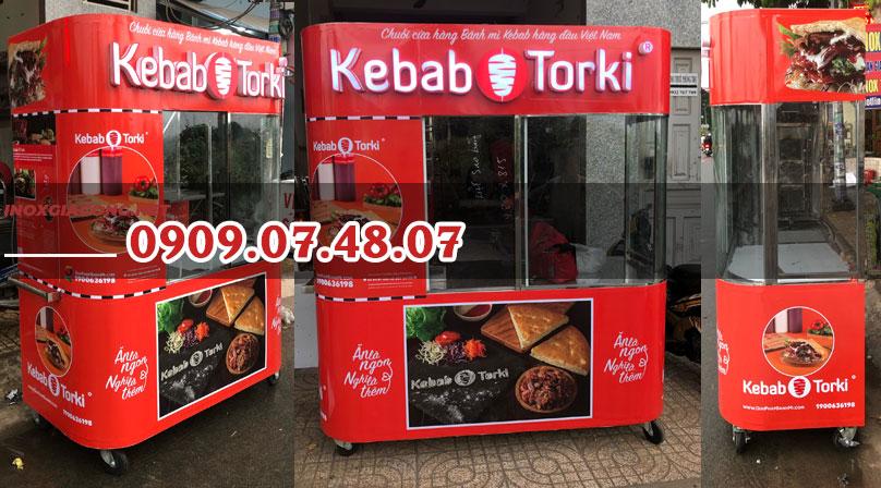 Xe bánh mì thổ nhĩ kỳ kebab torki