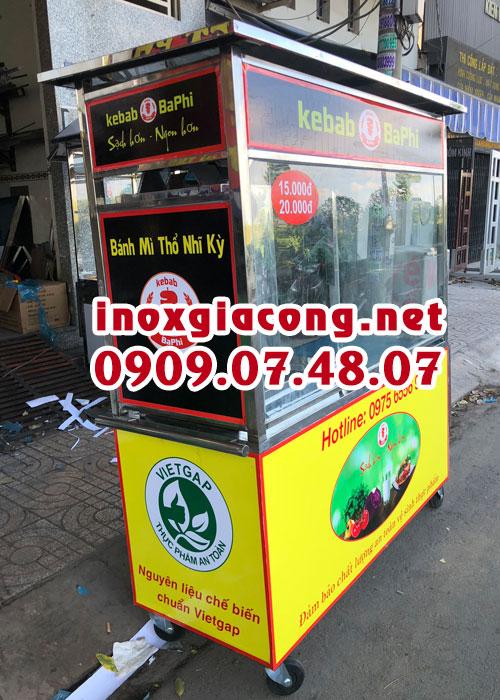 Xe bánh mì Kebab giá bao nhiêu?