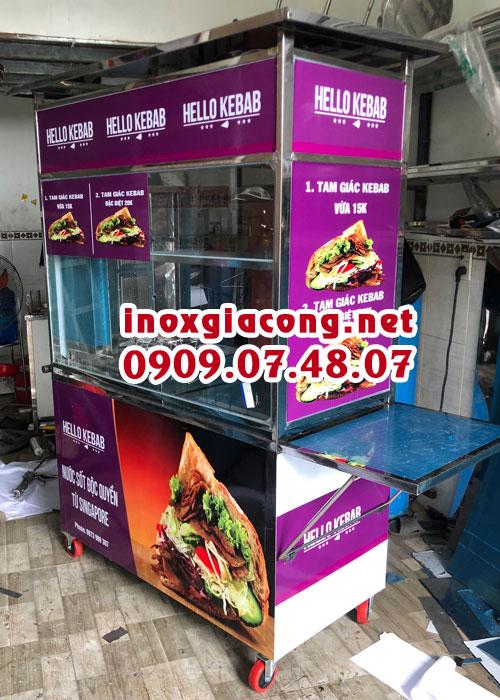 Mua xe doner kebab ở đâu? Giá bao nhiêu?