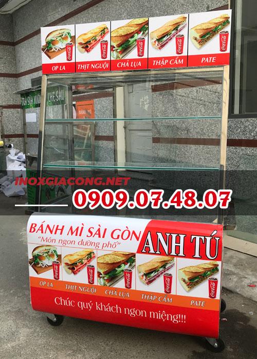 Tủ bán bánh mì đẹp giá rẻ