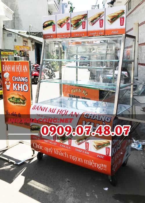 Tủ bán bánh mì giá rẻ