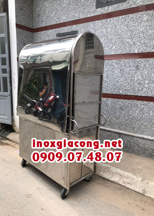 Xe Cà Phê Lưu Động INOX 304