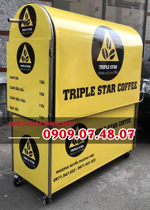 Xe cafe lưu động giá rẻ tại HCM