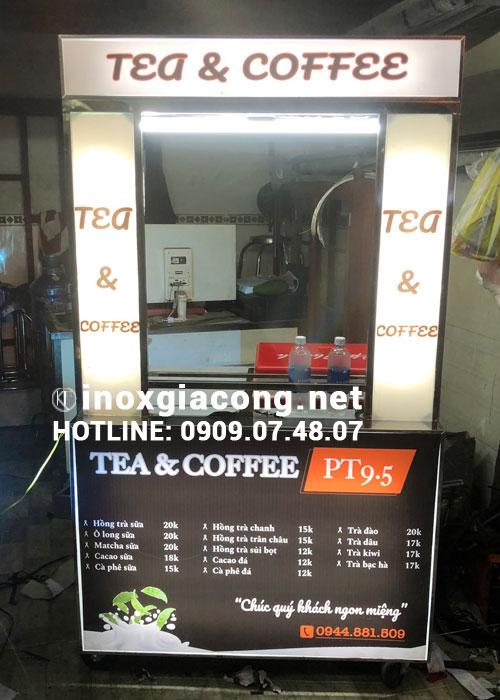 Mua xe bán cà phê mang đi