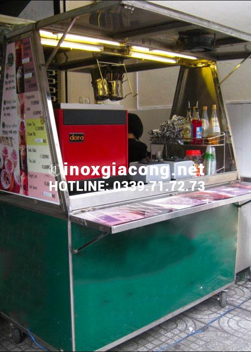 Xe bán cafe mang đi inox tphcm