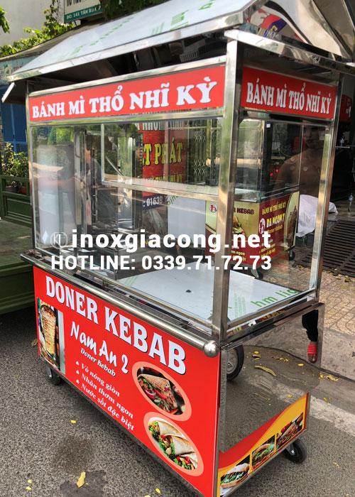 Bán xe bánh mì Doner kebab
