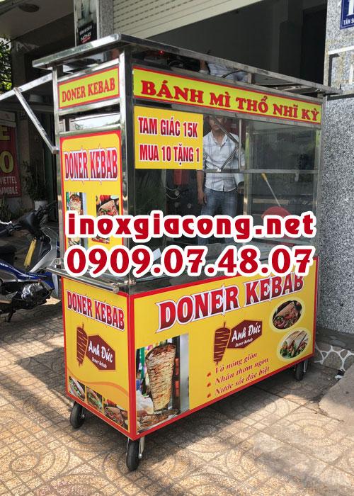 Đặt mua xe bánh mì doner kebab