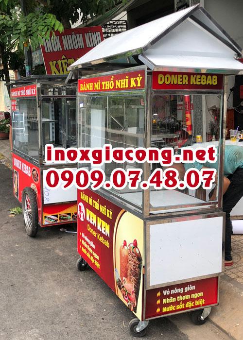 Giá xe bánh mì doner kebab