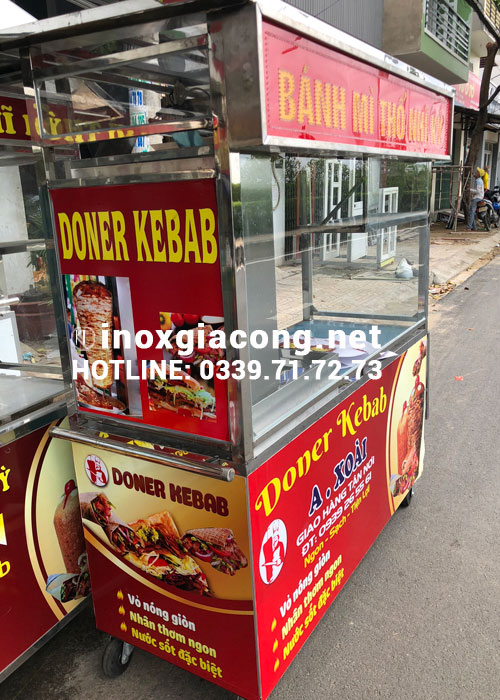 Xe doner kebab giá bao nhiêu?