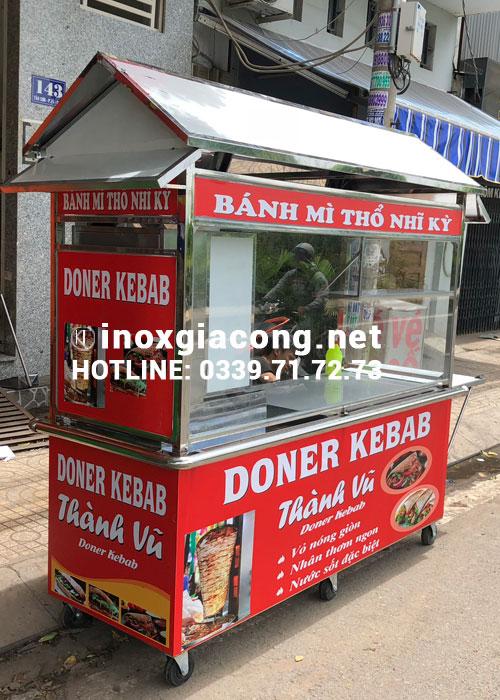Xe đẩy doner kebab giá bao nhiêu?