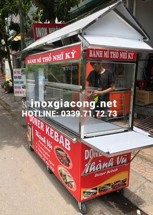 Xe đẩy Doner Kebab