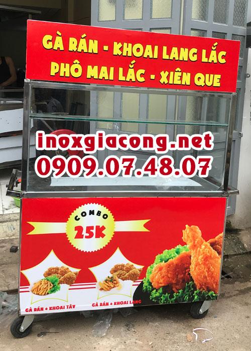 Xe bán gà rán rẻ đẹp