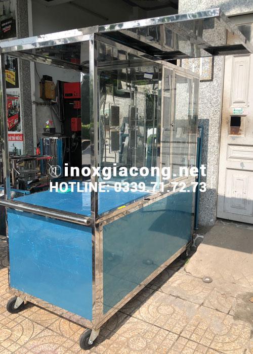 Xe bán heo quay tại HCM | Inox Kiệt Phát