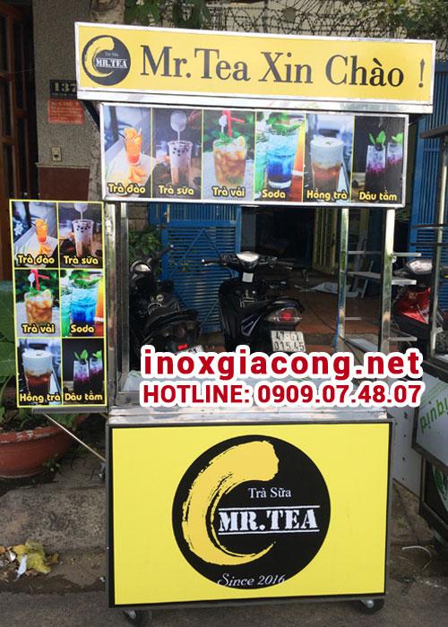 xe bán trà sữa đẹp