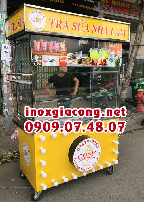 Giá xe bán trà sữa