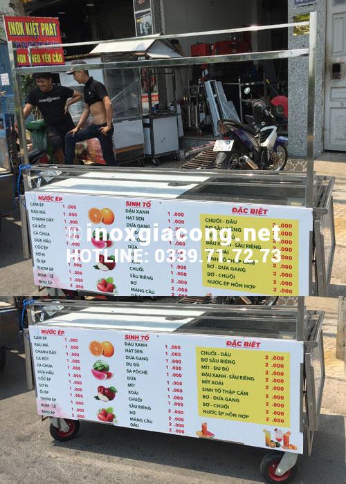 Mua xe trà sữa giá rẻ tại HCM