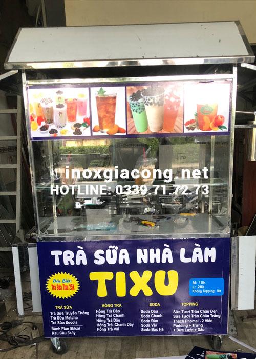 Xe trà sữa nhà làm mua ở đâu?