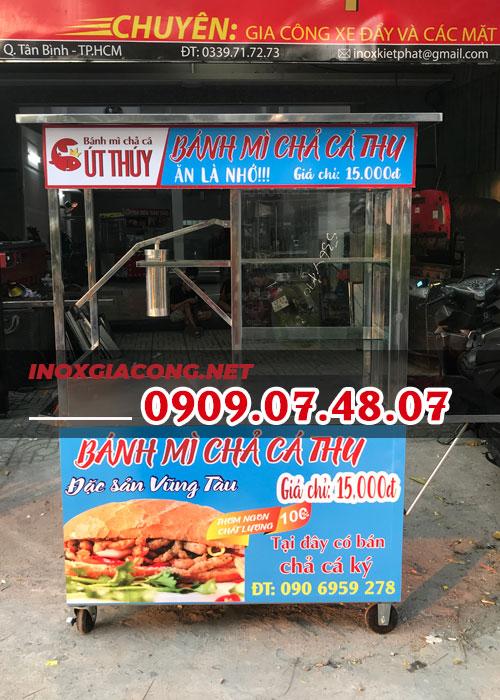 Địa chỉ bán xe bánh mì chả cá chính hãng giá rẻ nhất hiện nay
