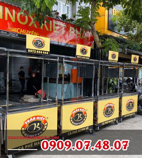 Top 5 nhà cung cấp xe bán cà phê inox được giới thiệu nhiều nhất