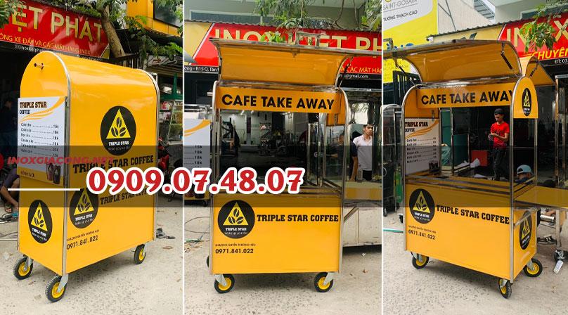 [REVIEW] Có nên đặt xe cà phê mang đi của inox Kiệt Phát không?