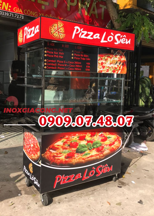 Mua xe bán bánh pizza lưu động