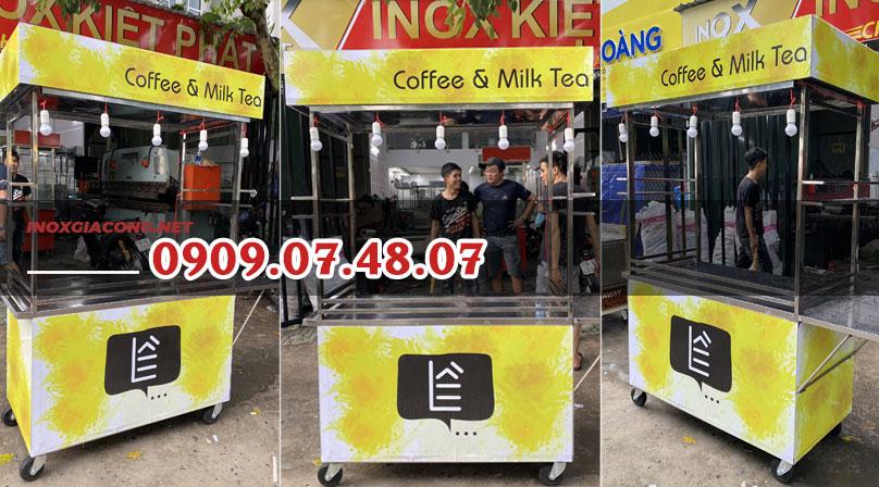 Mua xe bán cà phê trà sữa