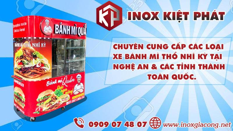 Địa chỉ bán xe bánh mì Thổ Nhĩ Kỳ tại Nghệ An