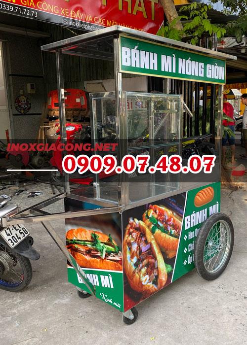 Xe bán bánh mì chả cá giá rẻ