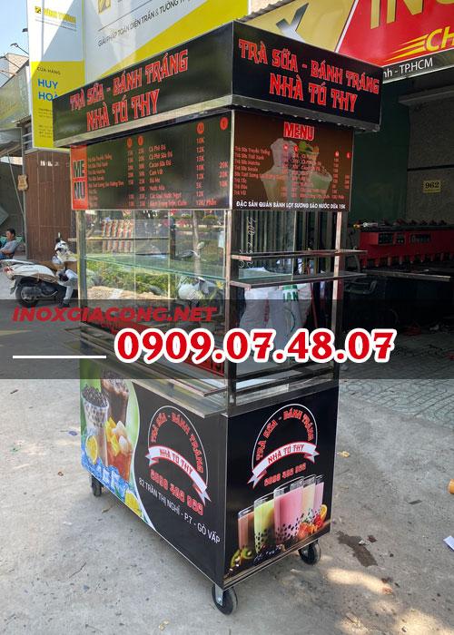 Nơi bán xe bán trà sữa