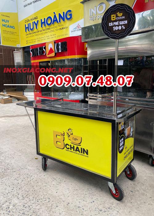 Xe bán cà phê ở Hồ Chí Minh 1M2 | Inox Kiệt Phát