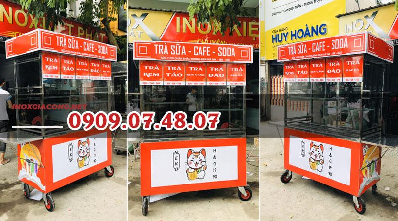 Xe bán cà phê trà sữa giá rẻ