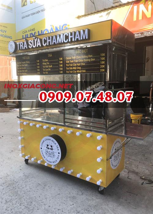 Cần mua xe trà sữa 1M4 | Inox Kiệt Phát