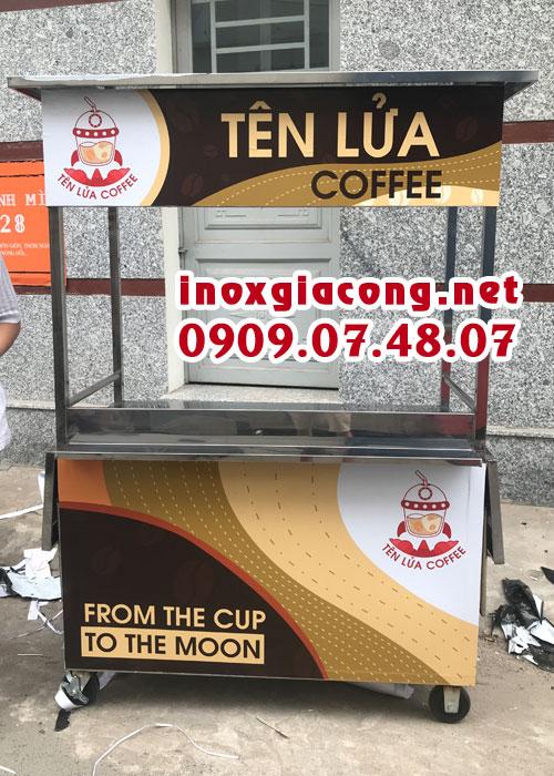 Xe bán cà phê take away giá rẻ