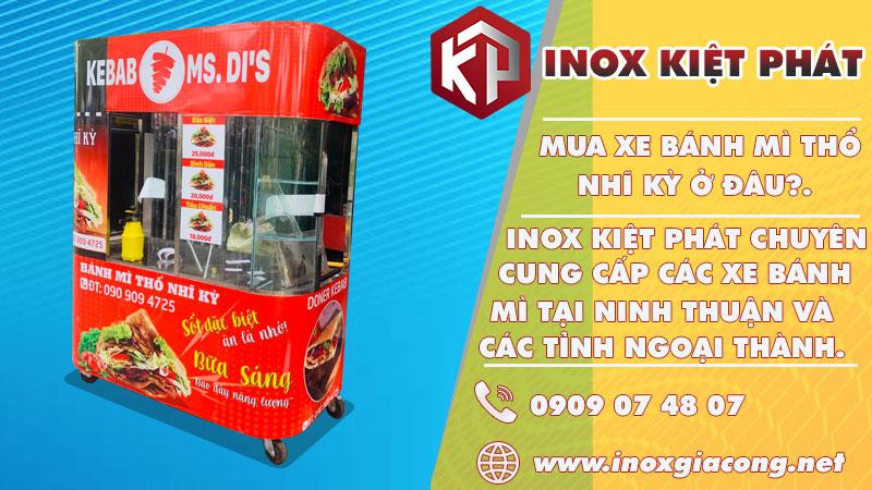 Mua xe bánh mì Thổ Nhĩ Kỳ tại Ninh Thuận