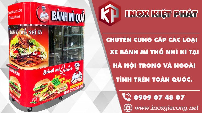 Mua xe bánh mì Thổ Nhĩ Kỳ tại Hà Nội ở đâu