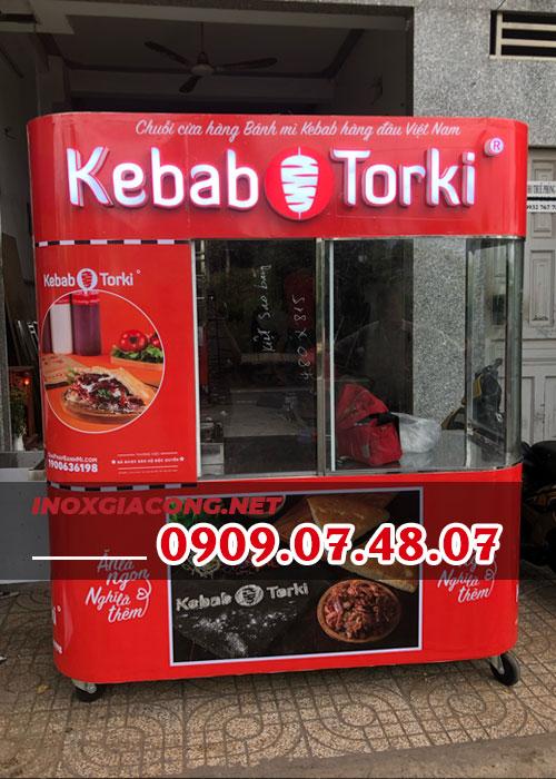 Xe bánh mì Thổ Nhĩ Kỳ trọn bộ