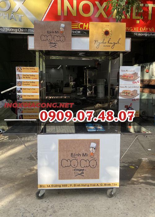 Xe bánh mì 1m | Inox Kiệt Phát