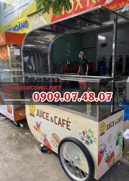 Xe cafe & juice 1m4  | Inox Kiệt Phát
