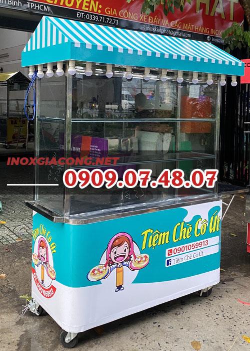 Xe chè 1m4 | Inox Kiệt Phát