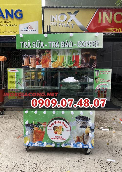 Xe trà sữa thanh lý 1m4 | Inox Kiệt Phát